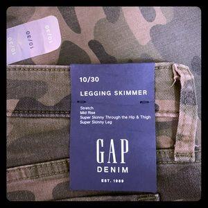 Camo gap jeans